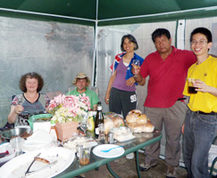 Peter and Jennifer Phillips family hosted the Australia Day Mensa Barbeque