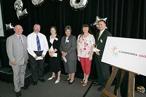 Canberra 100 award