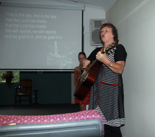 Singing at St James Anglican Church Nerang